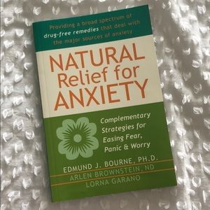 Other - Natural Relief for Anxiety Book